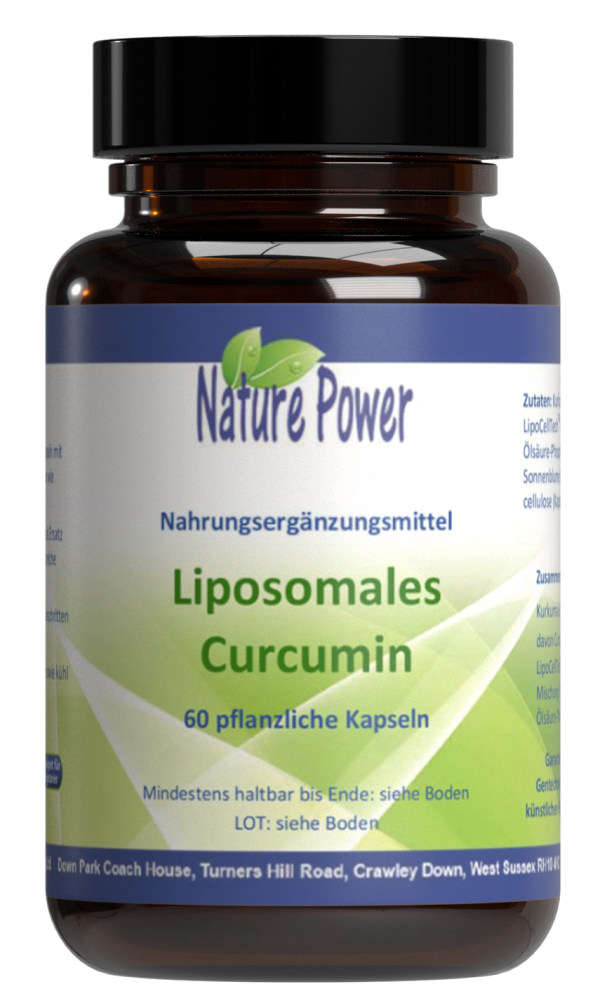 Liposomales Curcumin Nature Power