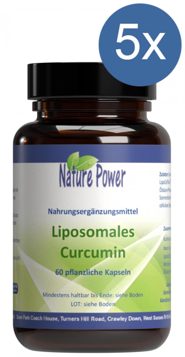 Liposomales Curcumin Vorteilspaket