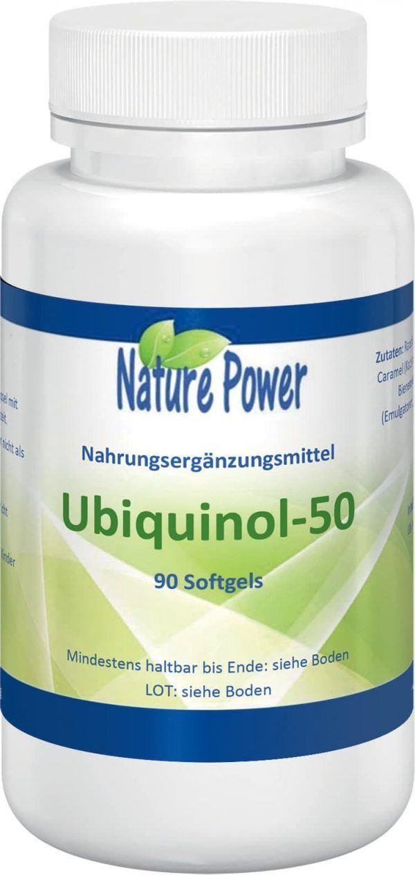 ubichinol 50 : Coenzym Q10