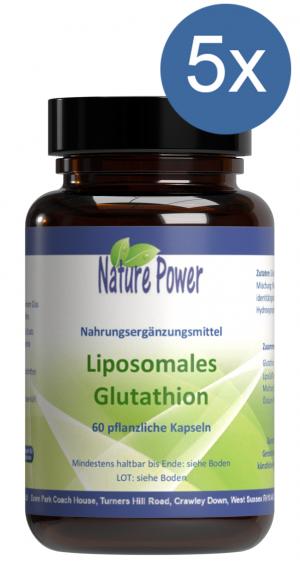 Liposomales Glutathion: Vorteilspaket