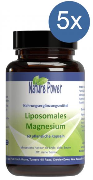 Liposomales Magnesium: Vorteilspaket