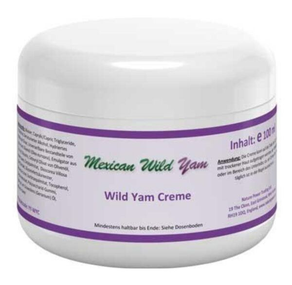 Mexican Wild Yam creme