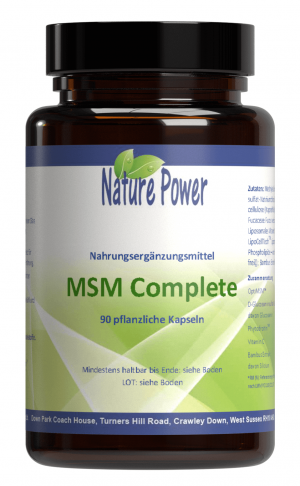 Methylsulfonylmethan (MSM) NaturePower