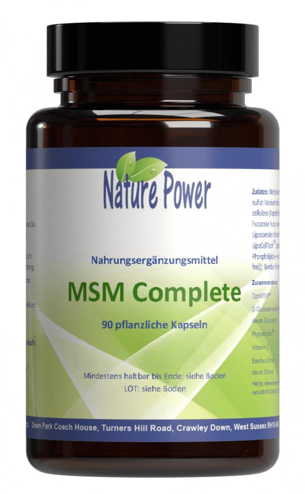 Methylsulfonylmethan (MSM) NaturePower