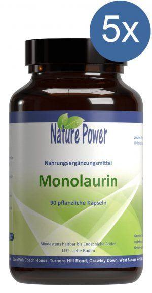 Monolaurin (90) Vorteilpacket Nature Power