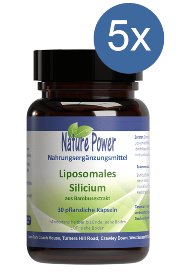Liposomales Silicium Nature Power